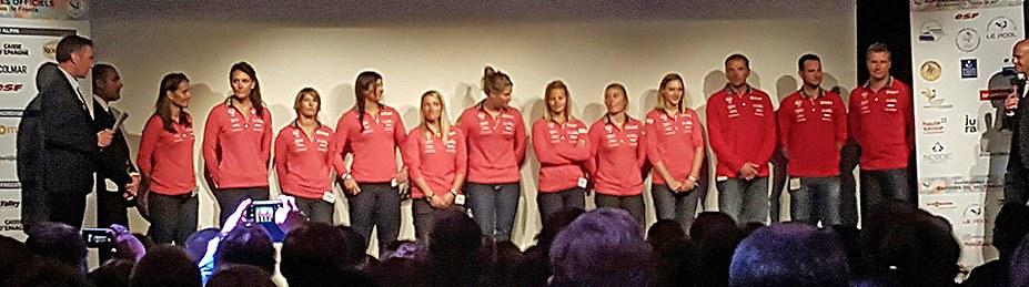 Equipe de France Alpin Femmes 2015-2016