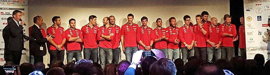 Equipe de France Alpin Hommes 2015-2016
