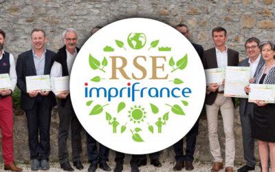 Démarche RSE 2019 – Typocentre obtient la médaille d'Or